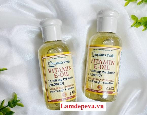 Vitamin E-Oil 30000IU có tốt không? Làn da nào phù hợp 5