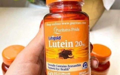 Thuốc bổ mắt Lutigold Lutein 20mg có tốt không? [Giải đáp]