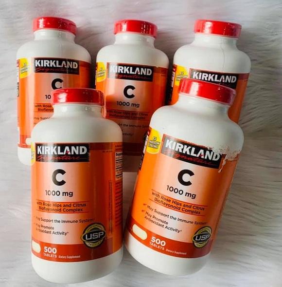 Vitamin C Kirkland 1000mg của Mỹ - Tăng cường đề kháng 8